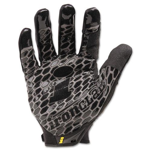 Box Handler Gloves, Black, X-Large, Pair. Picture 1