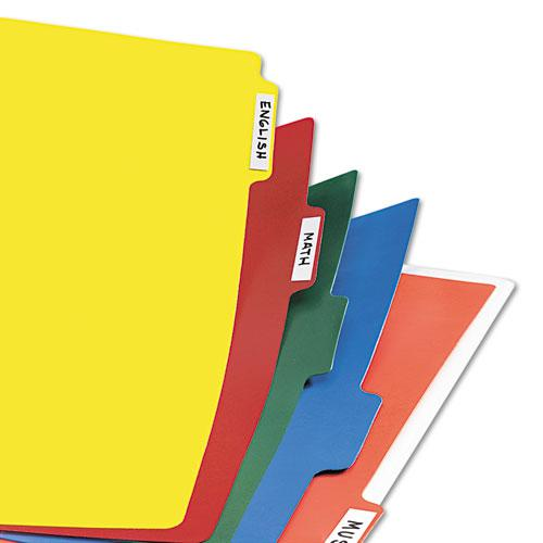 Heavy-Duty Plastic Dividers with Multicolor Tabs and White Labels , 8-Tab, 11 x 8.5, Assorted, 1 Set. Picture 5