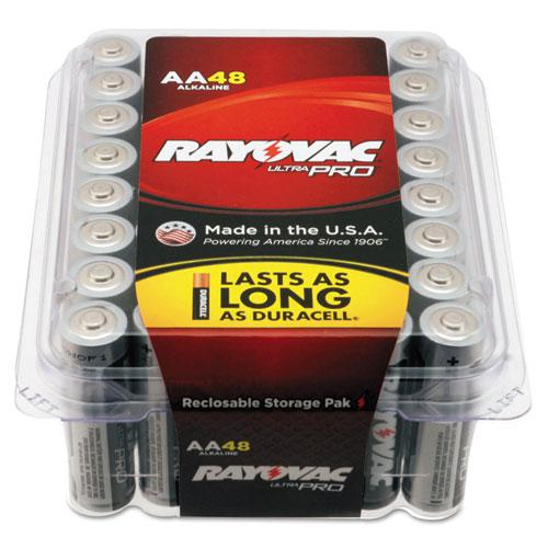 Ultra Pro Alkaline AA Batteries, 48/Pack. Picture 2