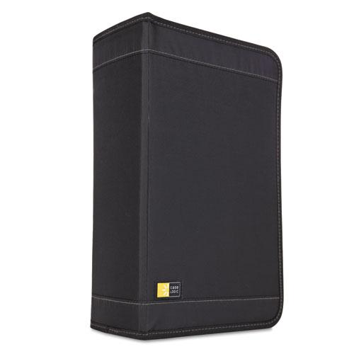 CD/DVD Wallet, Holds 136 Discs, Black. Picture 1