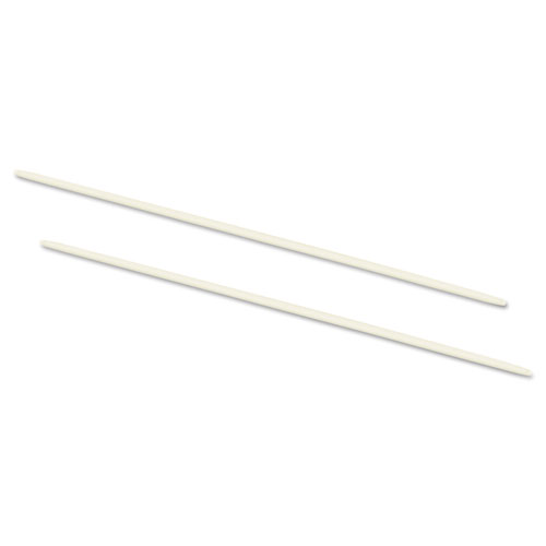 "Data Flex 8-1/2 Nylon Posts For Top/Bottom Loading Binders, 6"" Cap, 20/Pack. Picture 1"