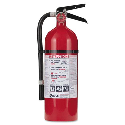 Pro 210 Fire Extinguisher, 4lb, 2-A, 10-B:C. Picture 1