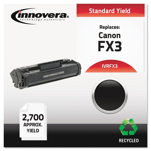 Remanufactured Black Toner, Replacement for Canon FX3 (1557A002BA), 2,700 Page-Yield. Picture 1