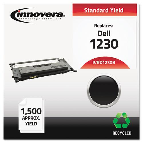 Remanufactured Black Toner, Replacement for Dell 1230 (330-3012), 1,500 Page-Yield. Picture 2