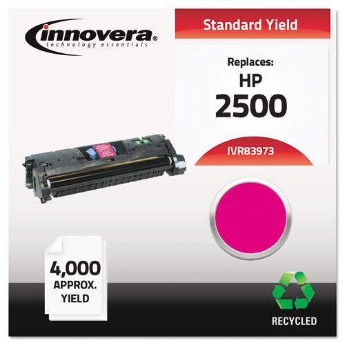 Remanufactured Magenta Toner, Replacement for HP 123A (Q3973A), 4,000 Page-Yield. Picture 2