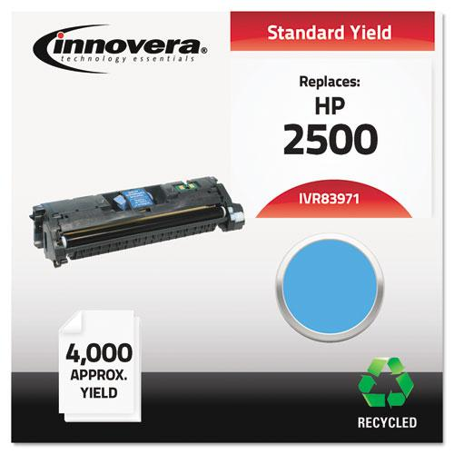 Remanufactured Cyan Toner, Replacement for HP 123A (Q3971A), 4,000 Page-Yield. Picture 2