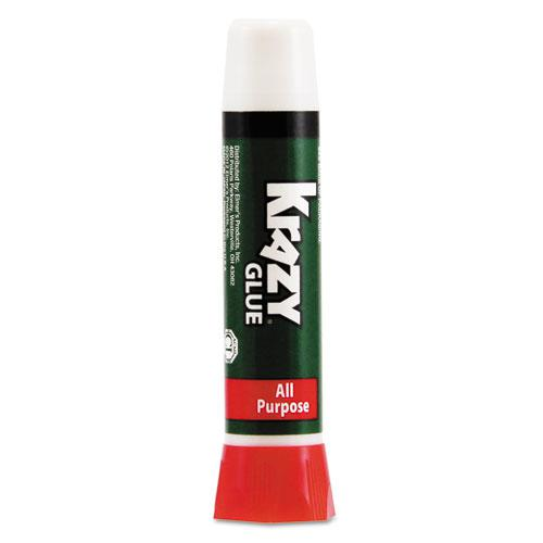 All Purpose Krazy Glue, 0.07 oz, Dries Clear. Picture 1