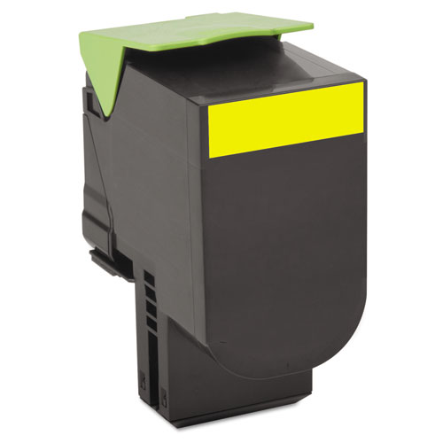 80C1XY0 Return Program Toner, 4000 Page-Yield, Yellow. Picture 1
