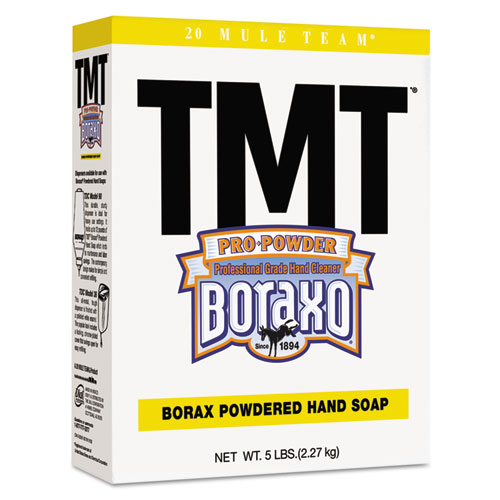 TMT Powdered Hand Soap, Unscented Powder, 5lb Box, 10/Carton. Picture 1