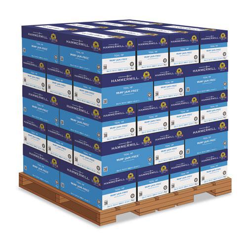 Tidal Print Paper, 92 Bright, 20lb, 8.5 x 11, White, 500 Sheets/Ream, 10 Reams/Carton, 40 Cartons/Pallet. Picture 1