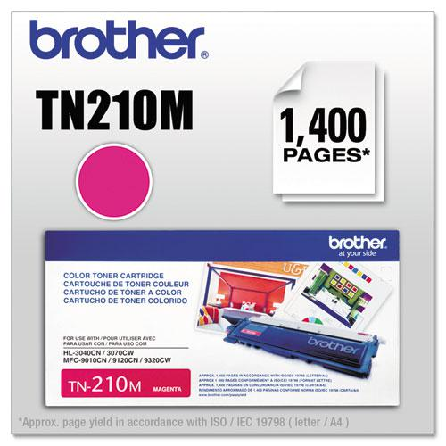 TN210M Toner, 1,400 Page-Yield, Magenta. The main picture.