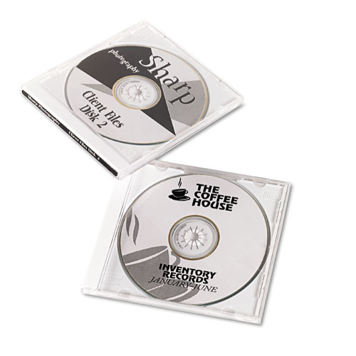 Laser CD Labels, Matte White, 50/Pack. Picture 2
