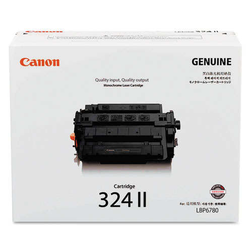 3482B003 (324LL) High-Yield Toner, 12500 Page-Yield, Black. Picture 1