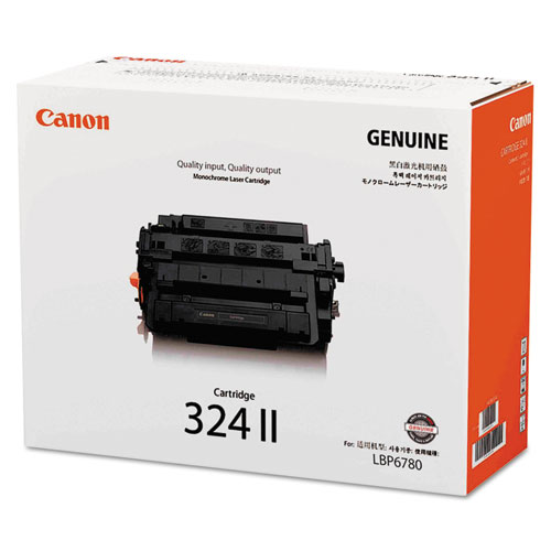 3482B003 (324LL) High-Yield Toner, 12500 Page-Yield, Black. Picture 2