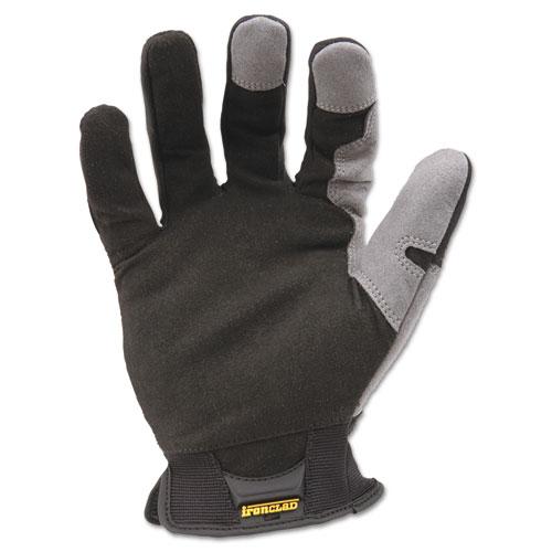 Workforce Glove, Medium, Gray/Black, Pair. Picture 2