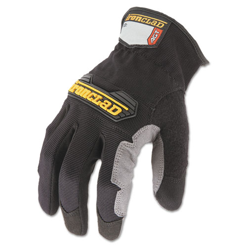 Workforce Glove, Medium, Gray/Black, Pair. Picture 1