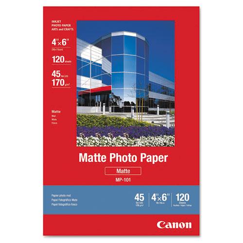 Matte Photo Paper, 4 x 6, Matte White, 120/Pack. Picture 1