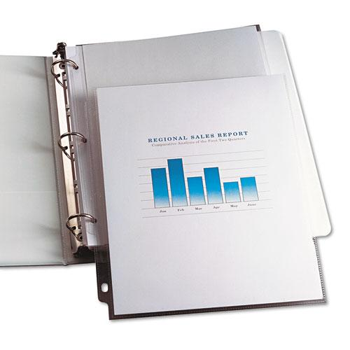 Top-Load Vinyl Sheet Protectors, Heavy Gauge, Letter, Clear, 100/Box. Picture 3