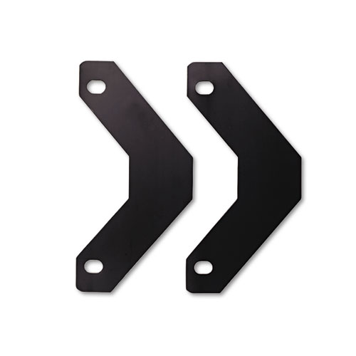 Triangle Shaped Sheet Lifter for Three-Ring Binder, Black, 2/Pack. Picture 2