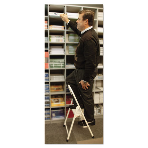 Louisville 560 Steel Qwik Step Platform Ladder 16 7 8w X