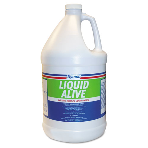 LIQUID ALIVE Odor Digester, 1 gal Bottle, 4/Carton. Picture 1
