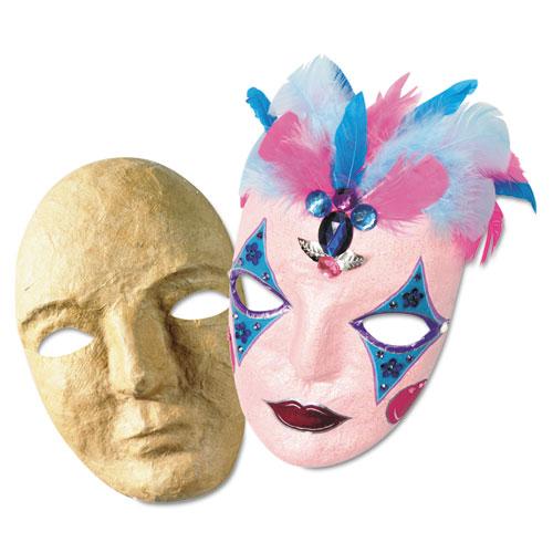 "Paper Mache Mask Kit, 8 x 5 1/2"". Picture 2"