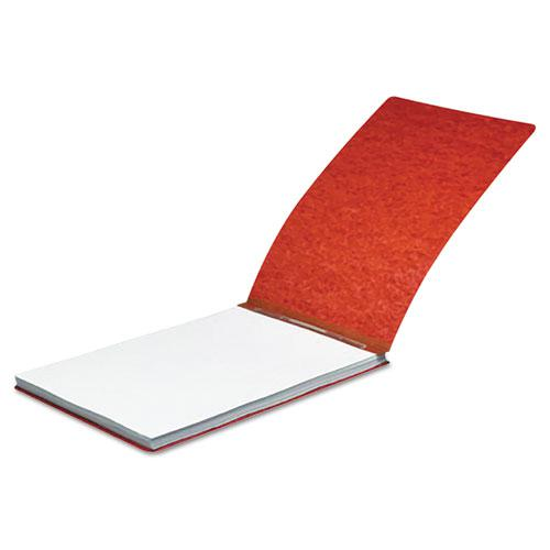 """Pressboard Report Cover, Spring Clip, Letter, 2"""" Capacity, Earth Red. Picture 2"""