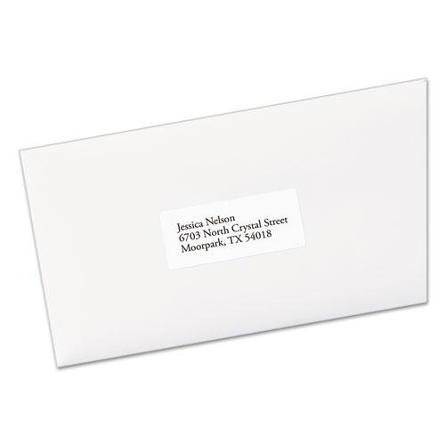 EcoFriendly Mailing Labels, Inkjet/Laser Printers, 1 x 2.63, White, 30/Sheet, 100 Sheets/Pack. Picture 2