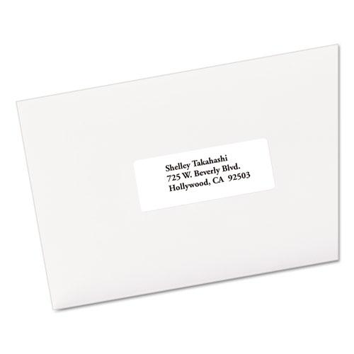EcoFriendly Mailing Labels, Inkjet/Laser Printers, 1 x 2.63, White, 30/Sheet, 250 Sheets/Box. Picture 2