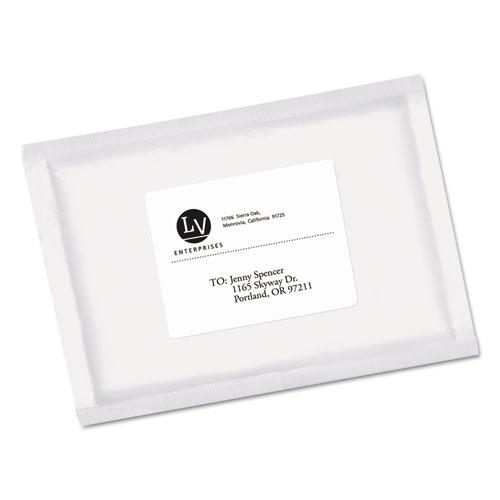 EcoFriendly Mailing Labels, Inkjet/Laser Printers, 3.33 x 4, White, 6/Sheet, 100 Sheets/Pack. Picture 2
