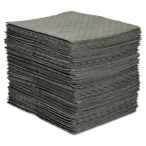 MRO Plus Medium Sorbent Pads, .205gal, 15w x 19l, Gray, 100/Carton. Picture 1