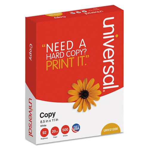 Copy Paper, 92 Bright, 20lb, 8.5 x 11, White, 500 Sheets/Ream, 10 Reams/Carton. Picture 2