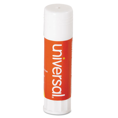 Glue Stick, 0.74 oz, Applies and Dries Clear, 12/Pack. Picture 1