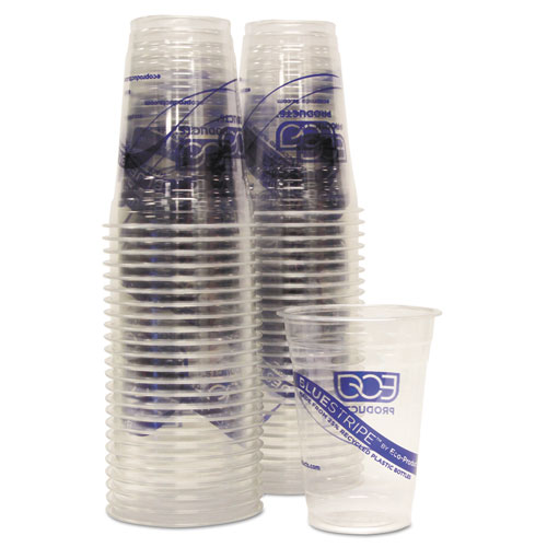 BlueStripe 25% Recycled Content Cold Cups Convenience Pack, 16 oz, 50/Pk. Picture 2