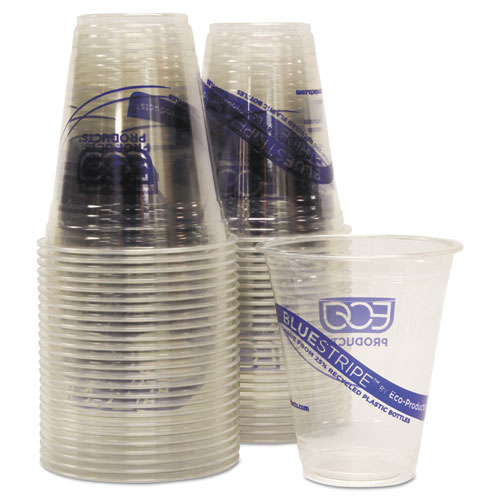 BlueStripe 25% Recycled Content Cold Cups Convenience Pack, 12 oz, 50/Pk. Picture 2