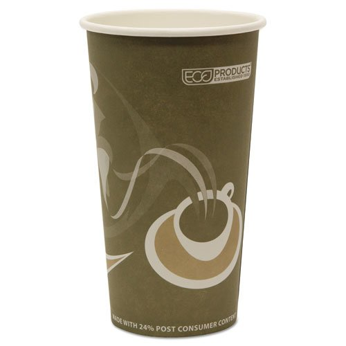 Evolution World 24% Recycled Content Hot Cups - 20oz., 50/PK, 20 PK/CT. Picture 3