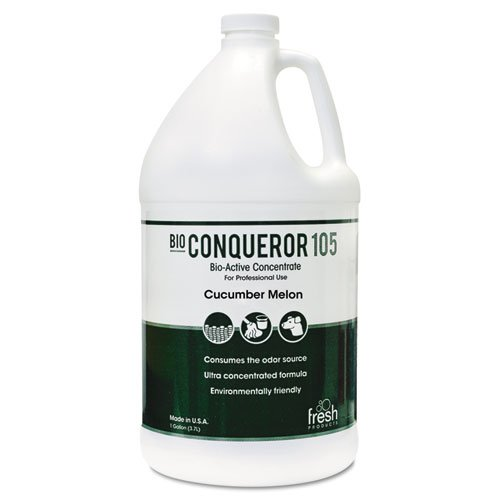 Bio-C 105 Odor Counteractant Concentrate, Cucumber Melon, 1gal, Bottle, 4/Carton. Picture 1