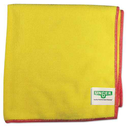 SmartColor MicroWipes 4000, Heavy-Duty, 16 x 15, Yellow/Red, 10/Case. Picture 1