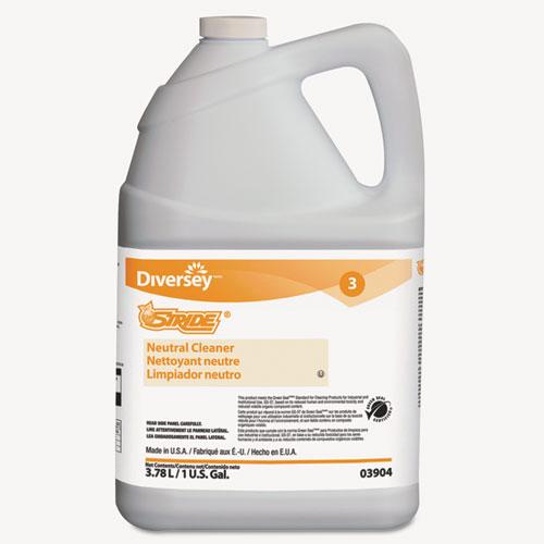 Stride Neutral Cleaner, Citrus, 1 gal, 4 Bottles/Carton. Picture 1