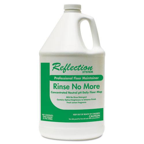 Rinse-No-More Floor Cleaner, Lemon Scent, 1 gal, Bottle, 4/Carton. Picture 1