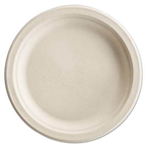 Paper Pro Round Plates, 6 Inches, White, 125/Pack. Picture 1