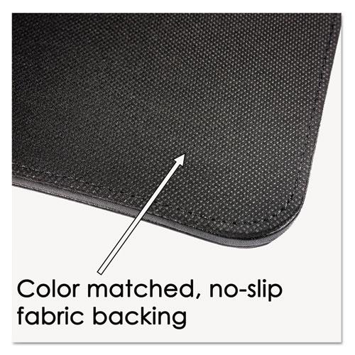 Sagamore Desk Pad w/Flip-Open Side Panels, 36 x 20, Black. Picture 5