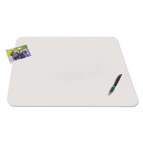 KrystalView Desk Pad with Antimicrobial Protection, 36 x 20, Matte Finish, Clear. Picture 2