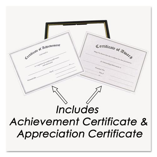 Framed Achievement/Appreciation Awards, Two Designs, Letter