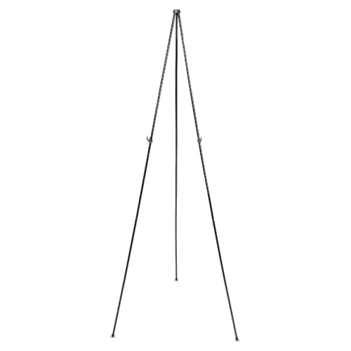 """Full Size Instant Easel, 62-3/8"""" Maximum Height, Steel, Black. Picture 1"""