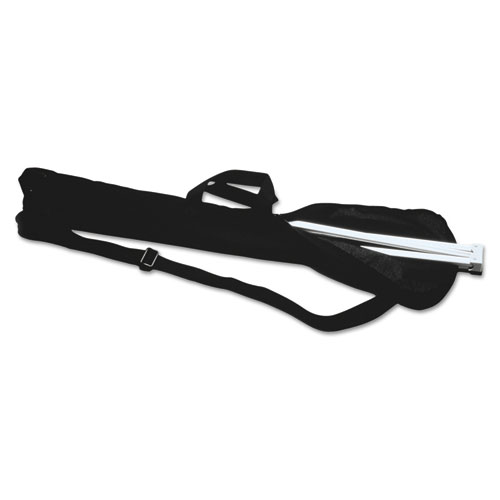 Display Easel Carrying Case, 38 1/5w x 1 1/2d x 6 1/2h, Nylon, Black. Picture 1