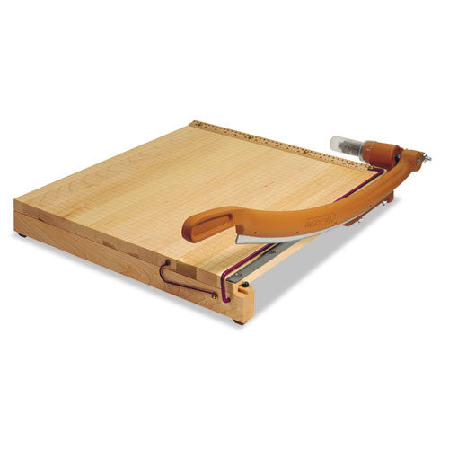 ClassicCut Ingento Solid Maple Paper Trimmer, 15 Sheets, Maple Base, 24 x 24. Picture 1