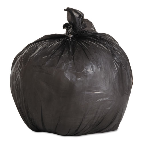 """Low-Density Waste Can Liners, 4 gal, 0.35 mil, 17"""" x 17"""", Black, 1,000/Carton. Picture 1"""