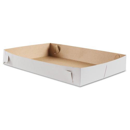 Donut Trays, 17w x 11 1/2d x 2 1/2h, White, 100/Bundle. Picture 1