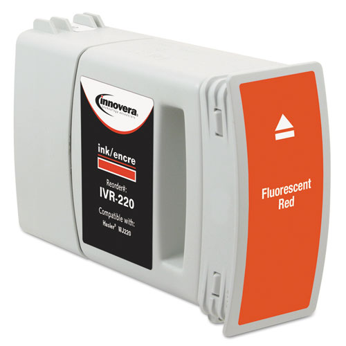 Compatible Red Postage Meter Ink, Replacement for Hasler WJ-220 (4127978B). Picture 2